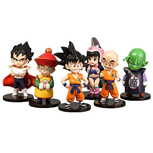 WenWiuir Dragon Ball Estatuilla de Juguete Juguete Bonito Regalo muñeca Buen Regalo para niños muñeca (Color : A01, Size : 5 X 11cm)