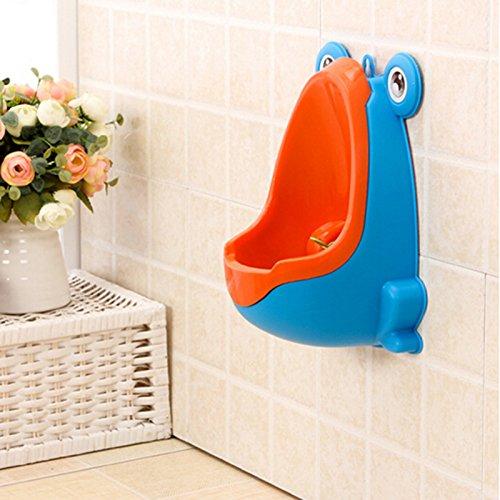 Urinal für Jungen in Form eines Frosches, zum Üben, fürs Badezimmer