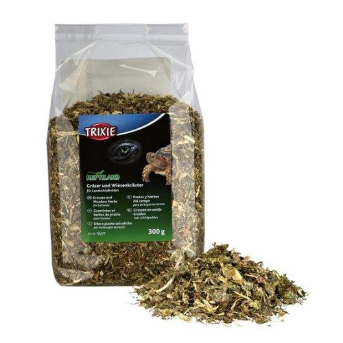 Trixie Gräser und Wiesenkräuter, Landschildkröten, 300 g - GAZOMA