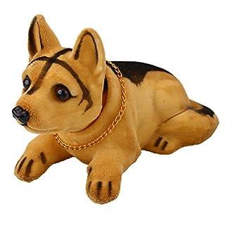 Anyutai Hundeform, die die Auto-Puppe anzieht, die Kopf-Hund-Verzierungen Hund-Verzierungen Dekoration des Auto-Hauses rüttelt - Schäferhund