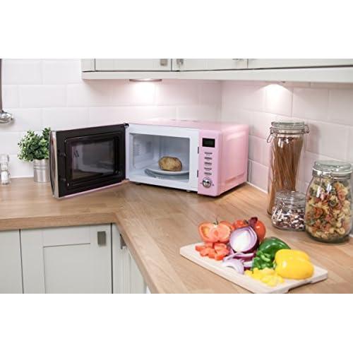 Russell Hobbs RHMD702PK 17 L Digital 700 Watt Pastel Pink Microwave