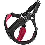 Gooby Choke Free Escape Free Sport Dog Harness for Dogs That Pulls and Escapes, Black, Small