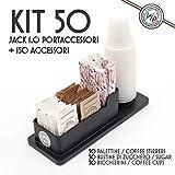 Kit Accesorios Café: 50 Vasos, Azúcar, Cucharillas + Envase cafe