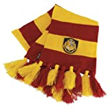 T137 Harry Potter Hogwarts Schal gestreift rot-gelb V2