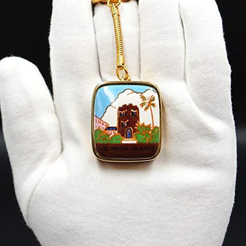 CTO Spieluhr, Mechanische Miniatur-Spieluhr, 90Er Jahre, Schlüsselanhänger, Antik, Sammlerstück,E,Geschenk -