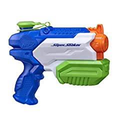 Idea Regalo - Hasbro Nerf Nerf Super Soaker Micro Burst2,pistola ad aqua