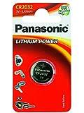 #9: Panasonic CR2032 3V Coin Shape Lithium Battery