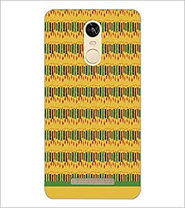 PrintDhaba Wind Chime Pattern D-1503 Back Case Cover for XIAOMI REDMI NOTE 3 (Multi-Coloured)