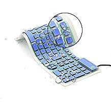 Tastiera flessibile pieghevole a tastiera in silicone CHINFAI tastiera flessibile tastiera USB per computer portatile PC portatile