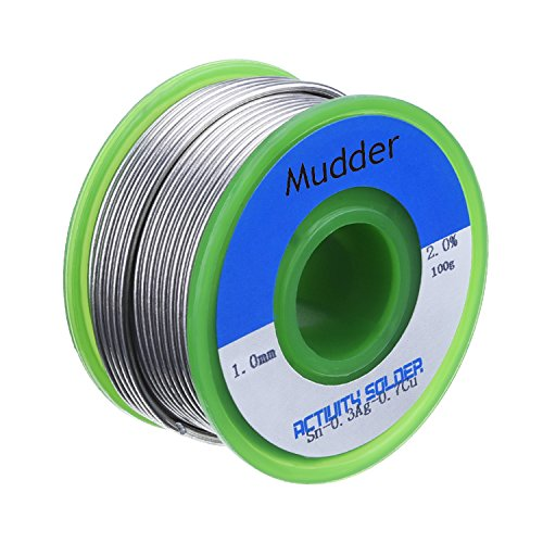 mudder-10mm-lead-free-solder-wire-sn99-ag03-cu07-with-rosin-core-for-electronical-soldering-100g