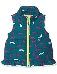 Hatley Winter Fox Microfibre Fleece Lined Vest, Chaleco para Niños