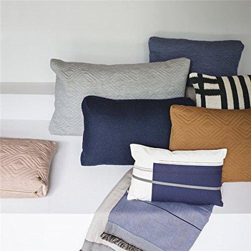 Ferm Living - Kissen Colour Block 2 (Klein) - mit Füllung - 100 % Baumwolle 40 x 25 cm -