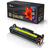 Print-Klex Alternative Tonerkartusche für HP Color LaserJet CP2026Series Color LaserJet CP2027 Color LaserJet CP2027DN CC532A HP304A Yellow