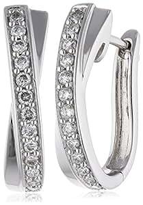 Diamonds by Ellen K. Damen-Creolen 585 Gelbgold 0.25ct. 170310017-1: Ellen K.