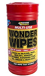 Multi-Use Wonder Wipes - Cleaning wipes multi-uses - 100 wipes - Clear