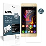 dipos I 2x Screen Protector matte for Oukitel C5 Pro