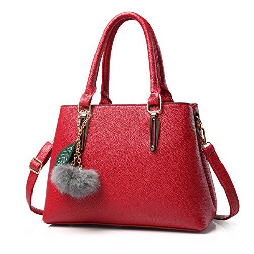 Lady Lychee Muster Schultertasche Handtasche Handtasche Atmosphäre Mode Einfache Handtasche F