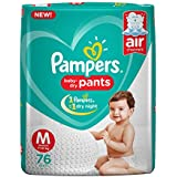 Pampers New Diapers Pants, Medium, 76 Count