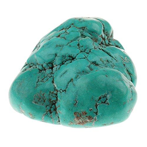 Sharplace 1 pezzo di pietra turchese naturale cristalli di quarzo pietra preziosa reiki guarire artigianato rupestre