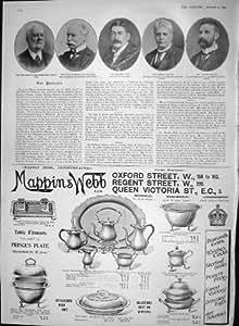 DUC 1903 GORDON KINRARA TUFF BARTON DEAKIN MAPPIN WEBB [Cuisine et Maison]