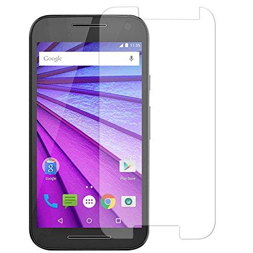 iKare 2.5D 9H Tempered Glass Screen Protector Shield Guard for Motorola Moto G 3rd Gen (Moto G 3)