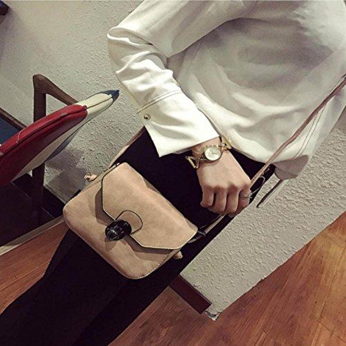 Bzline® Borse Casual Vintage Da Donna Con Tracolla A Tracolla, 18cm * 14cm * 5cm Rosa