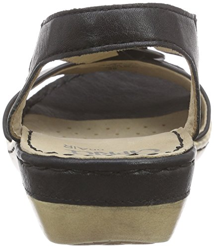 Caprice  28659, Sandales pour femme Noir - Schwarz (BLACK NAPPA 22)