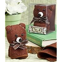 Adorabile asciugamano orso favori