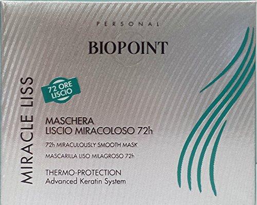 BIOPOINT Miracle Liss Maschera Capillare Capelli Lisci 200Ml