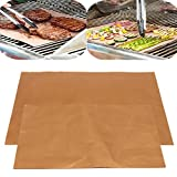LaDicha 4Er Grill Mats Bbq Und Bake Chef Non Stick Pad Camping Wandern Home Outdoor Tool