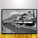 baodanla Senza Cornice Mclaren Campione del Mondo Ayrton Senna Poster F1 Formula Racing Car Poster e Stampe su Tela di Arte della Parete re Decorazioni per la casa40x60cm