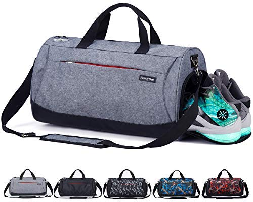 CoCoMall Sports Gym Bag with Sho...