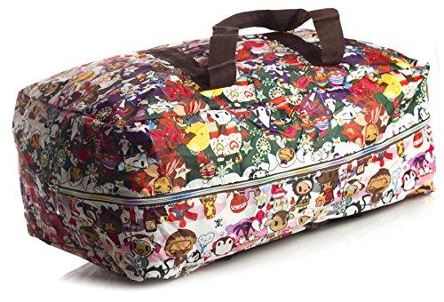 Big Handbag Shop ,  Unisex-Erwachsene Tasche Holdall 259 - Green Scene