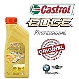 Kit d'entretien huile CASTROL EDGE PROFESSIONAL LL04 5W30 8LT 4 FILTRES BOSCH BMW E60 530D 231Cv 173Kw