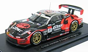 Nissan 350Z SuperGT 500 2005 G'ZOX 1/43 Scale Diecast Model by EBBRO