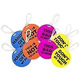 COM-FOUR® 8er Set Kofferanhänger zum beschriften, in verschiedenen Ausführungen und Farben