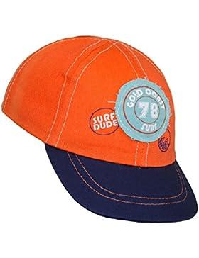 EveryHead Babybasecap Jungenbasecap Basecap Baseballcap Schirmmütze Sommermütze Sommercap Aufnäher Gummizug für...
