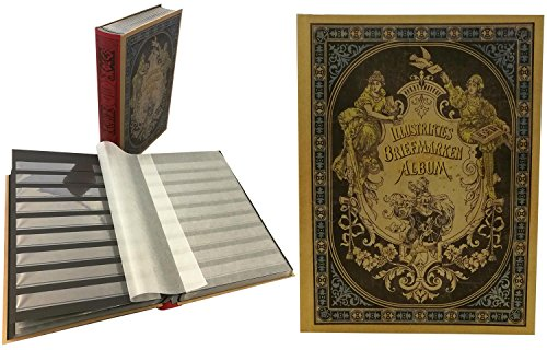 Prophila Collection Francobolli Album nostalgici III, 60 Pagine, Interno Nero