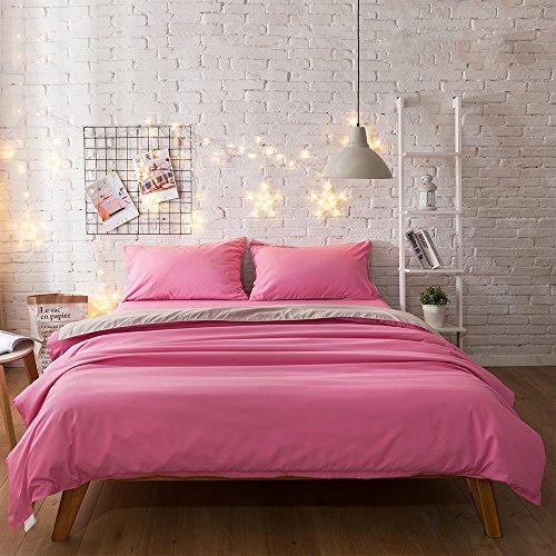 premium-4er-set-bed-sheet-kissen-north-europe-einfachen-stil-betten-kollektion-princess-pink-califor