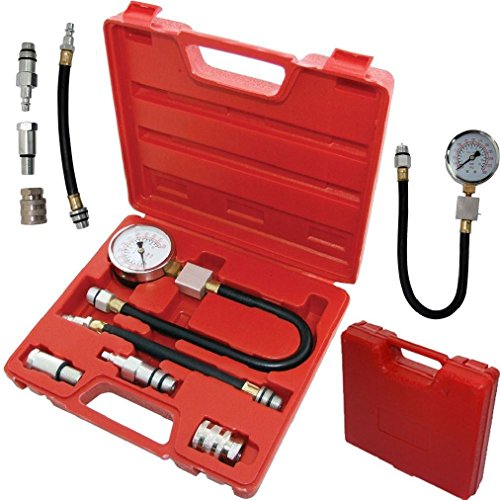 Automotive Benzin Motor Kompression Tester-Kit Ventil Timing Gauge Pro Zylinder (Gewebte Baumwoll-Öse)