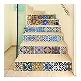 Autocollants D'escalier Auto-adhésifs 3D, Autocollants De Carrelage Vintage,...