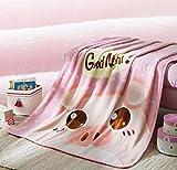Kelly' Harvest House 100% Polyester Mikrofaser, Faltenunempfindlich, Anti-Fade, 100 cm x 140 cm, Pink