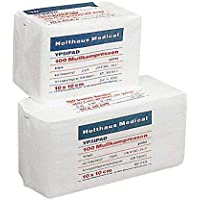 Holthaus Medical Mullkompresse YPSIPAD, Kompresse Mull Wundauflage,DIN EN 14079, 8-fach, unsteril, 7,5x7,5cm,... preisvergleich bei billige-tabletten.eu