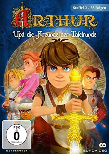 Arthur und die Freunde der Tafelrunde - Staffel 2 mit 26 Folgen [2 DVDs] (Arthur Kinder Dvd)