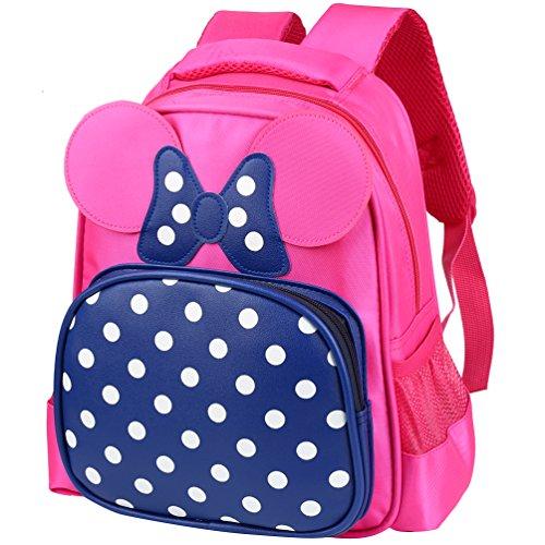 Vbiger Zaino scuola Zaino per bambini carina per le ragazze dell'asilo(Blu)