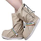 Eagsouni Regenüberschuhe Wasserdicht Schuhe Abdeckung Stiefel Flache Regen Überschuhe Regenkombi...