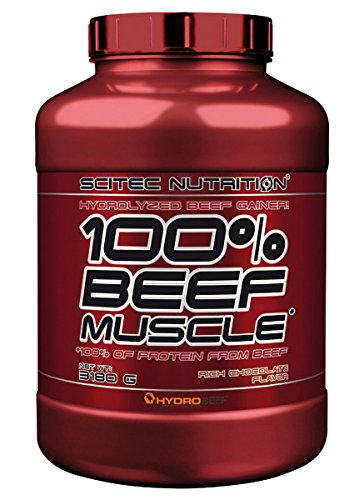 Scitec Nutrition Beef Muscle Schokolade, 1er Pack (1 x 3.18 kg) (Protein Beef)
