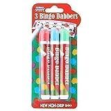 Bolígrafos marcador colores varios tinta non-coulante Bingo House–Juego X3