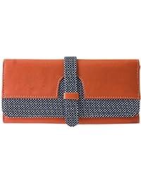 Heels & Handles Orange Wallet (N0041) (Buy One Get One Free)