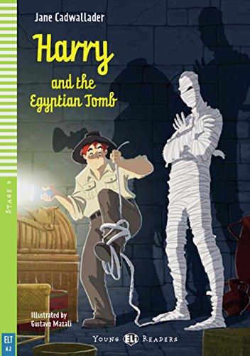 Harry and the Egyptian Tomb: Englische Lektüre für das 1. und 2. Lernjahr. Buch + Audio-CD (Young ELI Readers)